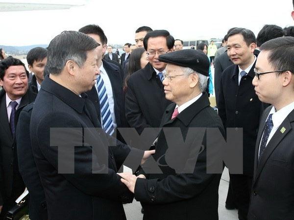 Tổng Bí thư kết thúc chuyến thăm chính thức nước CHND Trung Hoa