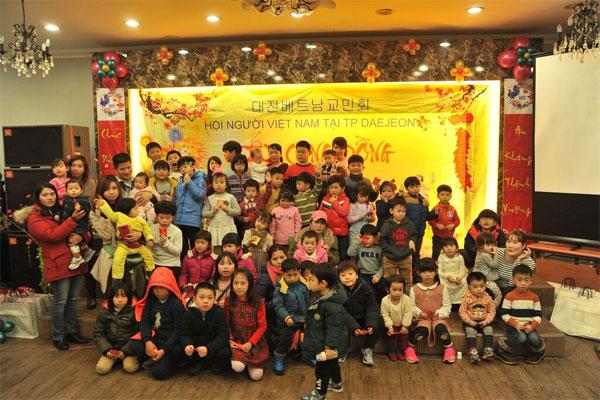 Người Việt tại Daejeon, Hàn Quốc mừng Xuân mới