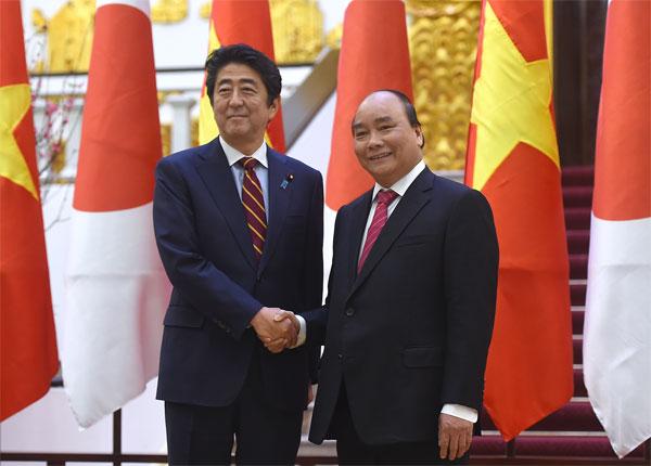 Hai Thủ tướng Việt Nam và Nhật Bản nhất trí cao về những phương hướng lớn