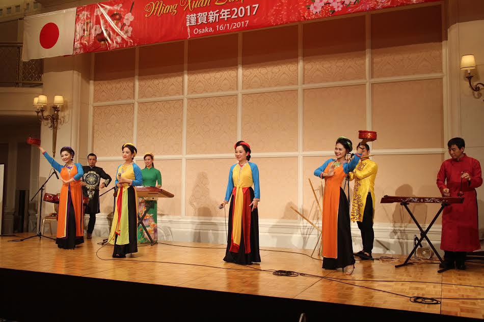 Người Việt tại Kansai, Nhật Bản vui đón Xuân Đinh Dậu