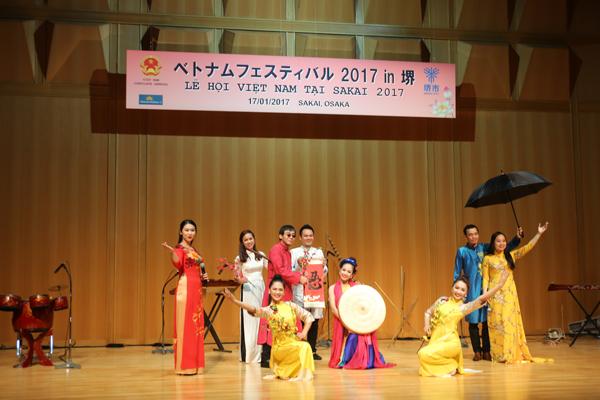 Chương trình nghệ thuật Lễ hội Xuân Việt Nam tại Sakai 2017