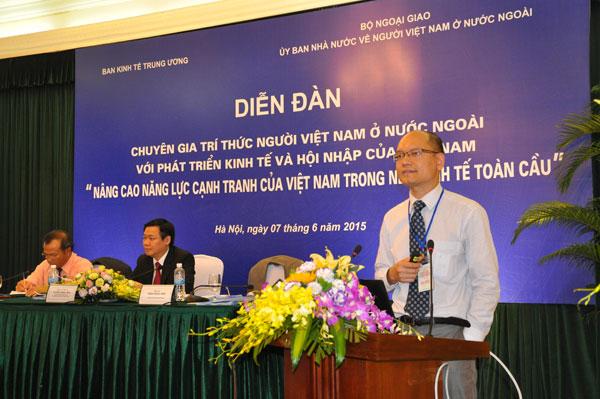 Nhóm Sáng kiến Việt Nam: Kết nối chuyên gia trong và ngoài nước  cùng xây dựng đất nước