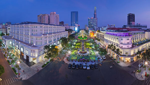 Tp Hồ Chí Minh - từ cổ kính đến hiện đại