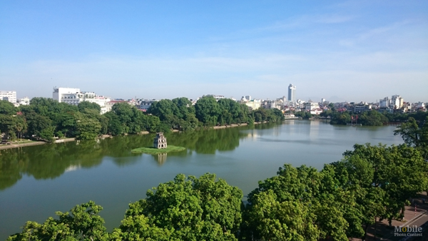 Hà Nội một sáng mùa Đông