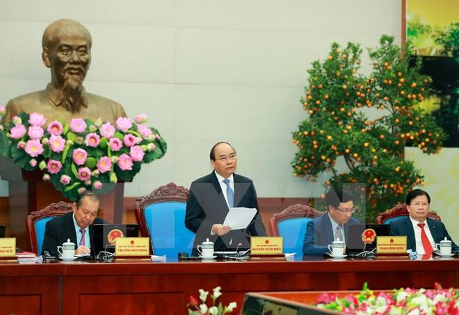 Toàn văn Nghị quyết phiên họp Chính phủ thường kỳ tháng 1