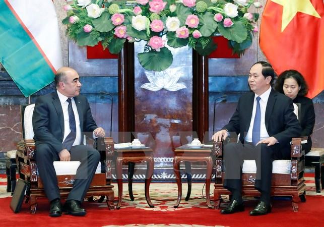 Việt Nam-Uzbekistan tiếp tục tăng cường hợp tác trên nhiều lĩnh vực