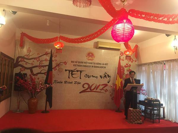 Đại sứ quán Việt Nam tại Bangladesh tổ chức Chương trình Tết sum vầy