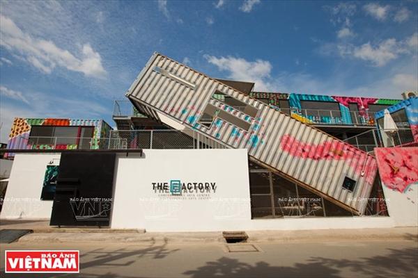 Trung tâm nghệ thuật đương đại đầu tiên của Việt Nam