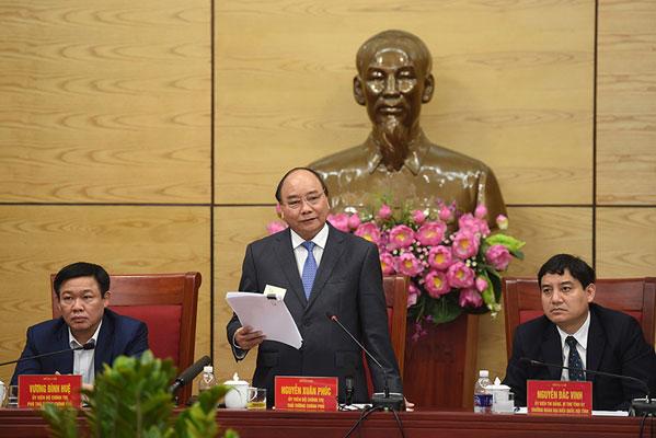 Thủ tướng: Nghệ An phải là vùng đất khởi nghiệp và thu hút nhân tài