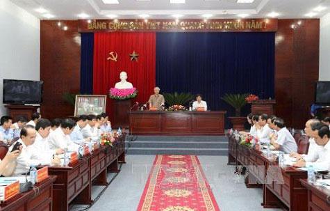Tổng Bí thư Nguyễn Phú Trọng thăm, làm việc tại Bạc Liêu