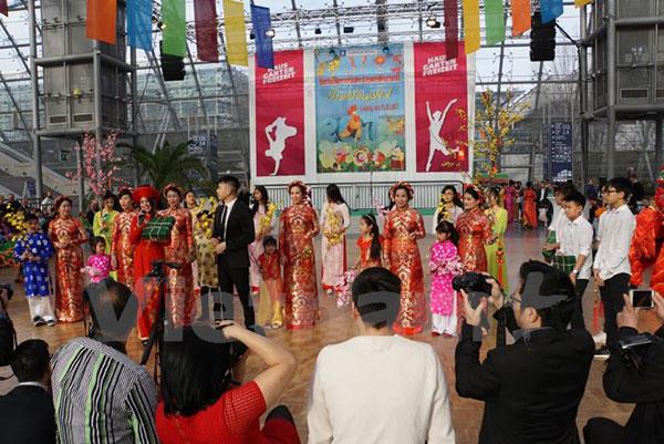 Người Việt tại thành phố Leipzig tổ chức Hội Xuân năm 2017
