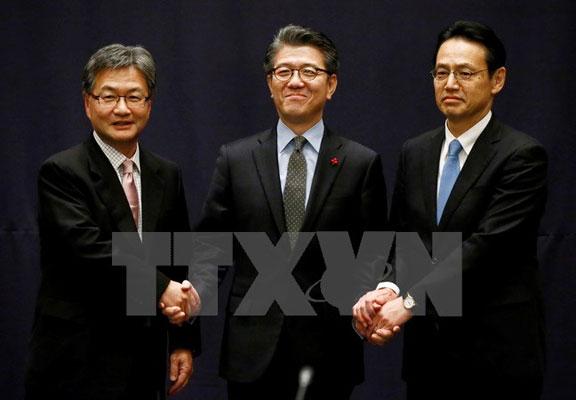 Hàn, Mỹ, Nhật Bản lên kế hoạch đàm phán về hạt nhân Triều Tiên