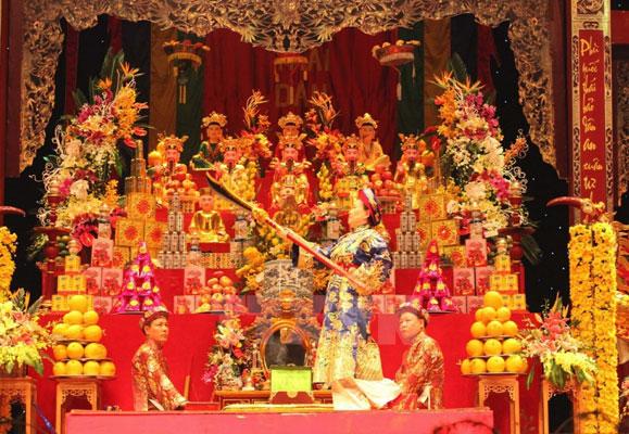 Tín ngưỡng thờ Mẫu của Việt Nam đến với bạn bè Ấn Độ