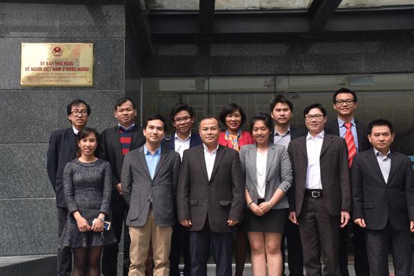 Ủy ban Nhà nước về NVNONN tích cực hỗ trợ  các hoạt động thiết thực của AVSE tại Việt Nam