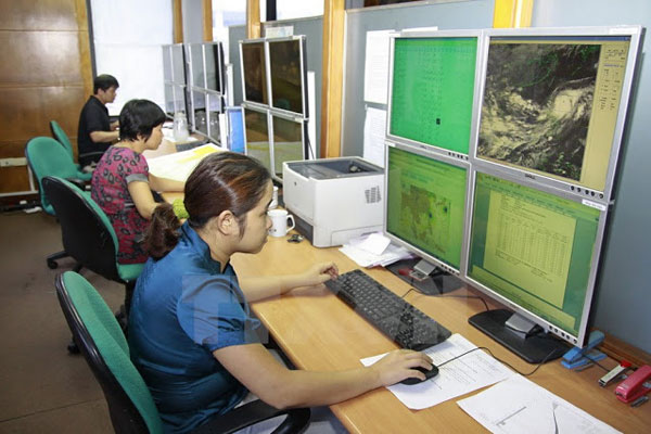 Việt Nam nâng cấp khả năng đo mưa, dự báo bão và dông sét
