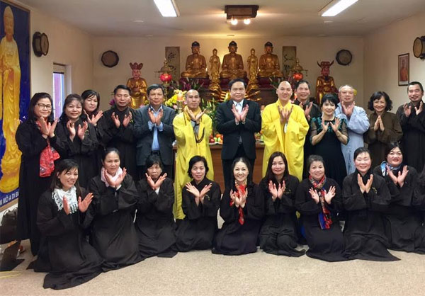 Hội Phật tử Việt Nam tại Séc có ban nhân sự mới