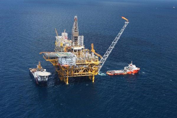 Sản lượng khai thác dầu khí quý 1 của PVN ước trên 6,4 triệu tấn