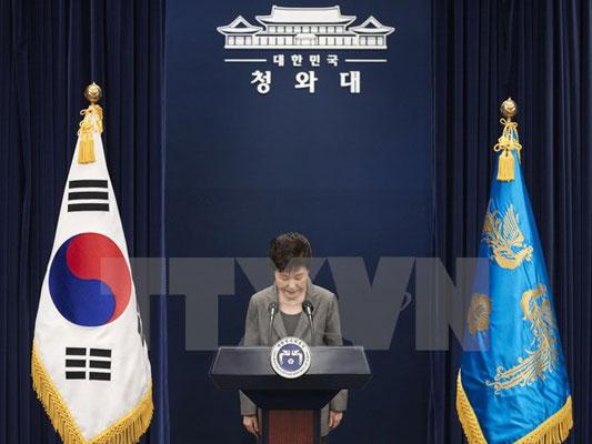 Cựu Tổng thống Hàn Quốc Park Geun-hye cam kết hợp tác điều tra