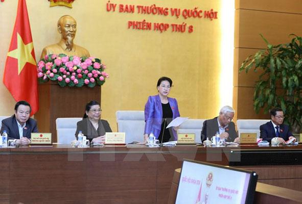 Bế mạc Phiên họp thứ 8 của Ủy ban thường vụ Quốc hội