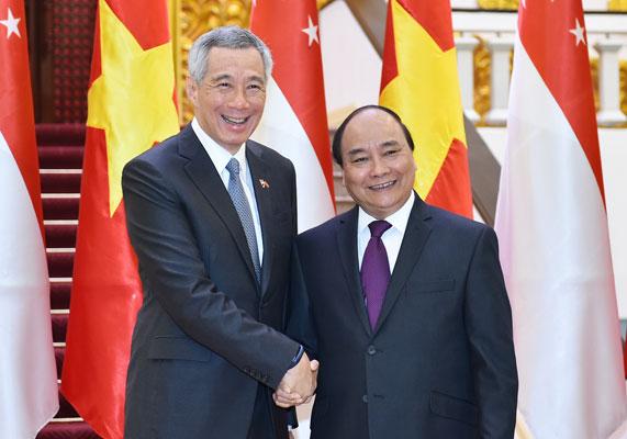 Toàn văn Tuyên bố chung giữa hai nước Việt Nam-Singapore