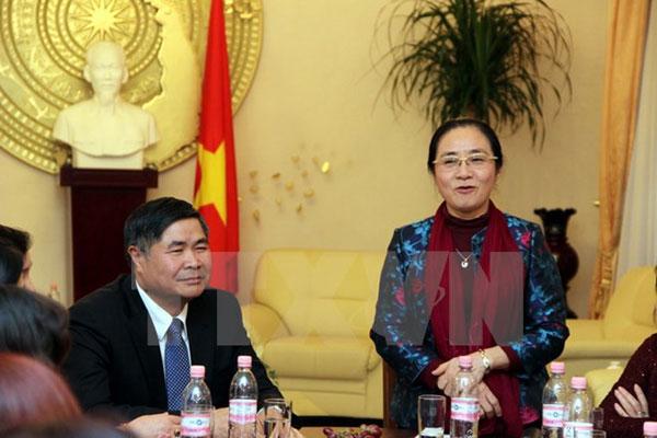 Hội Liên hiệp Phụ nữ Việt Nam đánh giá cao vai trò phụ nữ Việt tại Đức