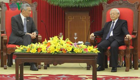 Đưa hợp tác Việt Nam-Singapore đi vào chiều sâu, thực chất