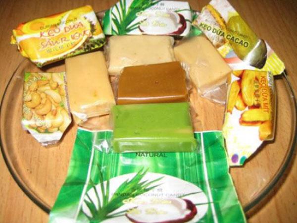 Kẹo dừa Bến Tre – ngọt ngào hương vị truyền thống