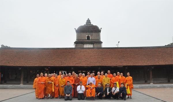 Đoàn Giáo hội Phật giáo Thái Lan, Phật giáo phái An Nam Tông Thái Lan thăm chùa Dâu, chùa Phật Tích