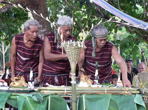 Lễ cúng thần lúa (Sayangva) của người Chơro
