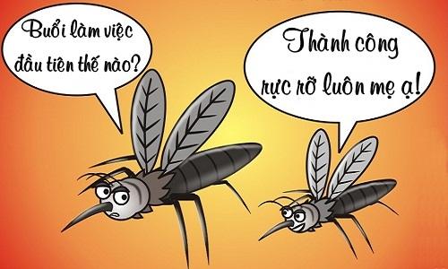 Thành công của loài muỗi
