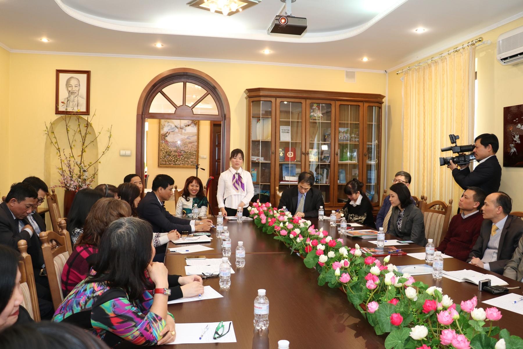 """Hội thảo """"Nâng cao chất lượng dạy và học tiếng Việt tại Ucraina"""""""