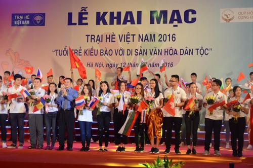 Trại hè Việt Nam 2017 tuyển chọn đại biểu tham dự