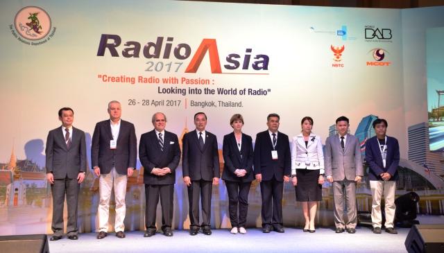 Việt Nam tham dự Hội nghị phát thanh châu Á 2017 tại Thái Lan