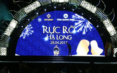 Đêm đại nhạc hội Rực rỡ Hạ Long 2017