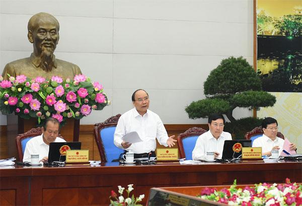 Thủ tướng nhấn mạnh quyết tâm đạt tăng trưởng 6,7%