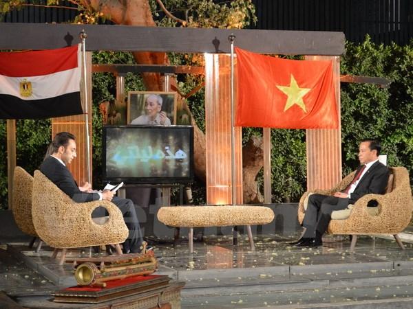 Ai Cập phát sóng trực tiếp giới thiệu đất nước, con người Việt Nam