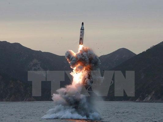Triều Tiên tuyên bố vừa thử thành công một loại tên lửa mới