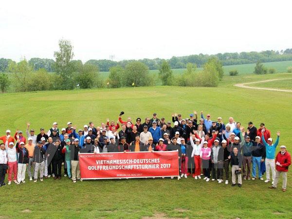 Gần 100 tay golf tranh tài ở Giải golf hữu nghị Đức-Việt 2017