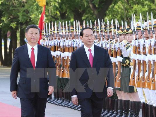 Thông cáo chung Việt-Trung nhân chuyến thăm của Chủ tịch nước