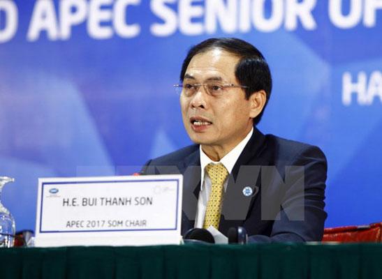 Bế mạc Hội nghị lần thứ hai các quan chức cao cấp APEC 2017