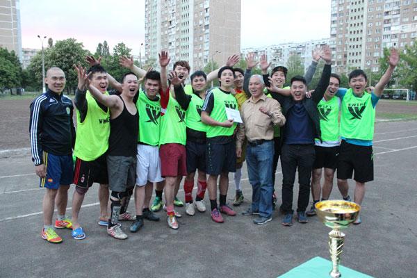 Chung kết Giải bóng đá mini của thanh niên, sinh viên khu vực Troeshina, Kiev
