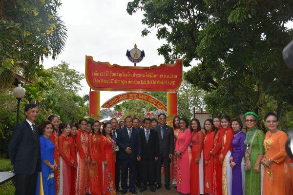Người Việt tại Thái Lan kỷ niệm 127 năm Ngày sinh của Chủ tịch Hồ Chí Minh