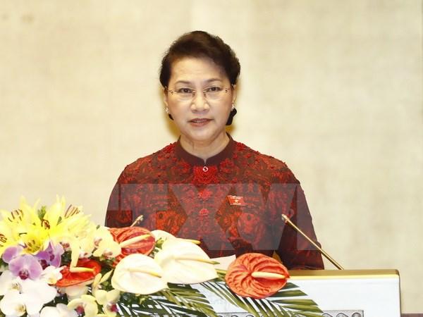 Chủ tịch Quốc hội phát biểu khai mạc Kỳ họp thứ ba, Quốc hội khóa XIV