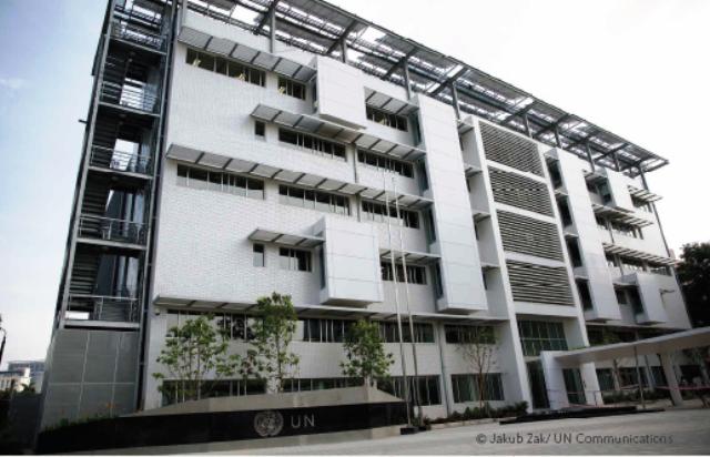 Ngôi nhà xanh Liên hợp quốc nhận chứng chỉ xây dựng xanh tại Việt Nam