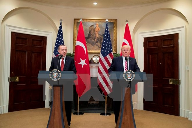Thổ Nhĩ Kỳ triệu Đại sứ Mỹ về vụ đụng độ tại Washington