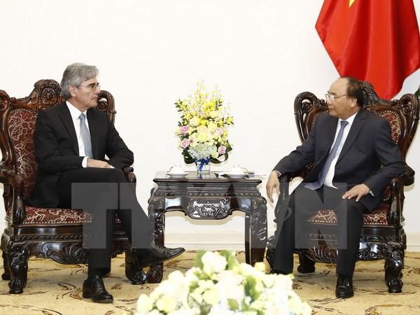 Thủ tướng Nguyễn Xuân Phúc tiếp Tổng Giám đốc Tập đoàn Siemens