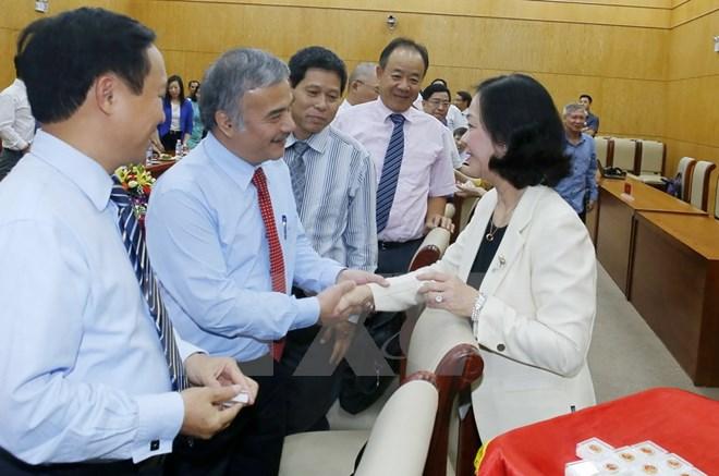 Gặp mặt các đại sứ, tổng lãnh sự mới được bổ nhiệm nhiệm kỳ 2017-2020