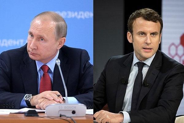 Tổng thống Pháp sẽ đối thoại không nhượng bộ với Tổng thống Nga Putin