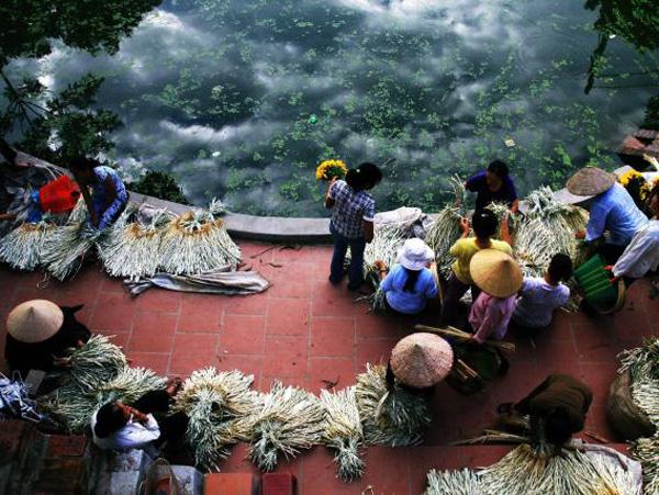Chợ làng một nét duyên quê
