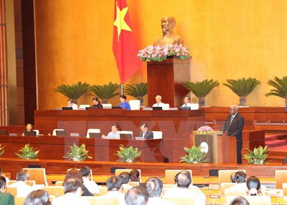 Chủ tịch Quốc hội Cuba tham dự phiên họp của Quốc hội Việt Nam